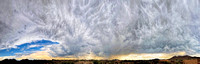 270 Degree Cloudy Sky Panorama