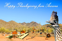 Happy Thanksgiving From Arizona