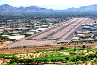 Approaching Scottsdale Airport