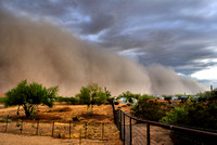 Sonoran Desert Dust Storm 1